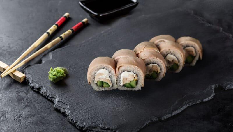 Бекон суши