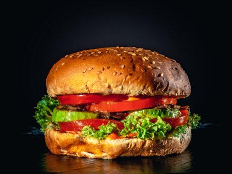Бургер веган