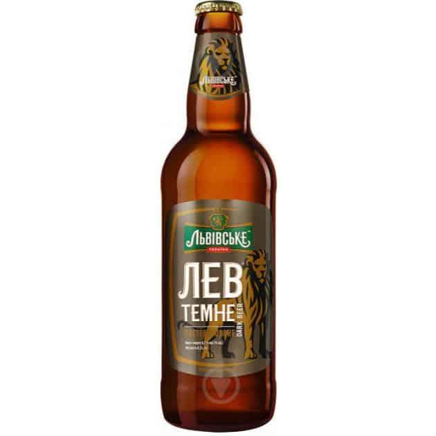 пиво Лев темне 0.5