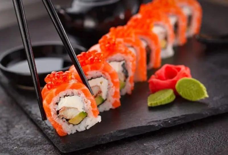 Суши и сеты в Папа Джо